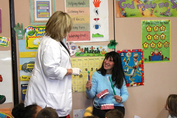2014 Pediatric Awareness Visits to Local Preschools