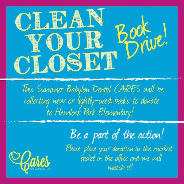 2014 Clean Your Closet Book Drive